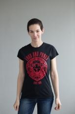 Loud and Proud T-Shirt black ladies