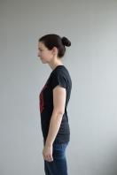 Loud and Proud T-Shirt schwarz Damen